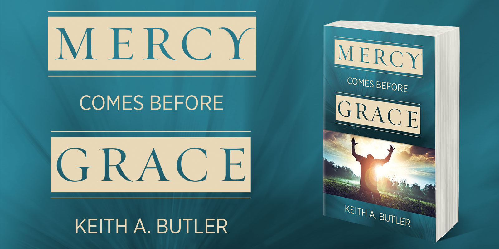 Mercy Comes Before Grace - Book